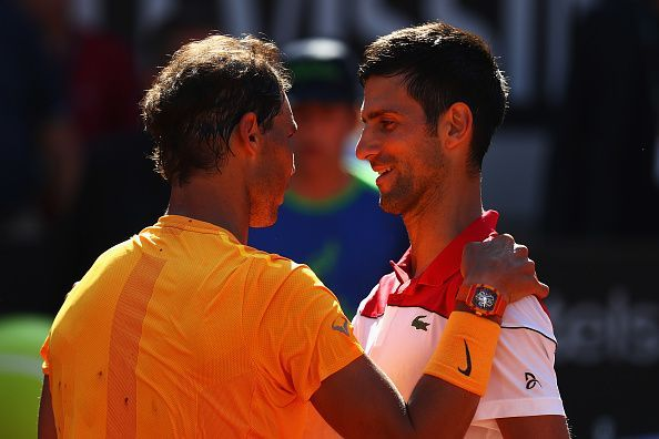 Nadal defeated Djokovic in Rome last year