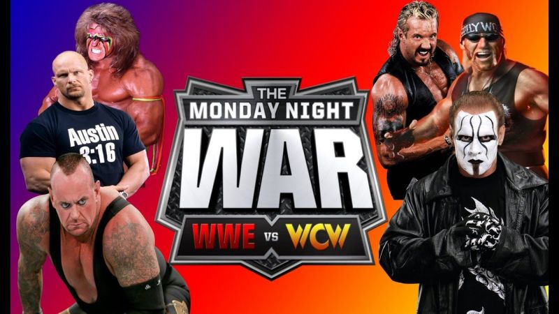 The Monday Night War raged for years, and nearly put the WWE out of business, before it DID put WCW out of business.