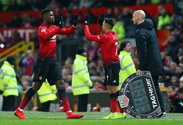Paul Pogba and Alexis Sanchez could embrace the exit door at Old Trafford this summer