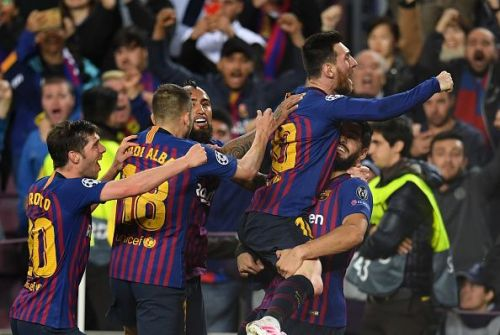 Barca have one foot in the final