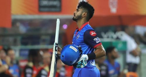 Shreyas has scored 442 runs in this ipl 2019