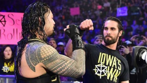 Roman Reigns and Seth Rollins are the only Shield members now in WWE