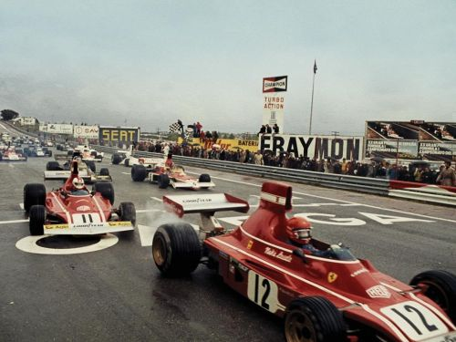 It was the race which finally put Niki on the map in Formula One