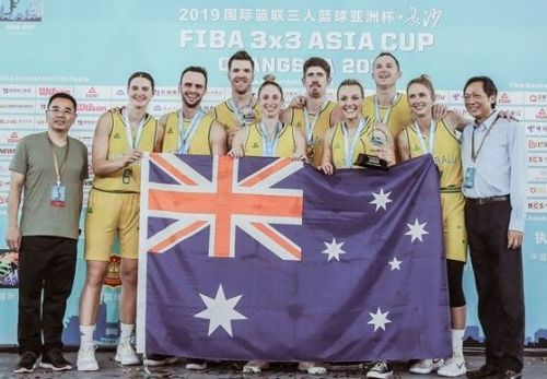 Australia won gold in both men's and women's category of the FIBA 3x3 Asia Cup 2019