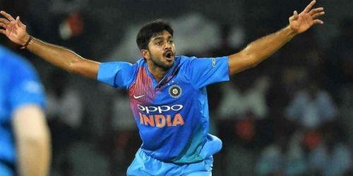 Vijay Shankar may be replaced by Shivam Dube in the future.