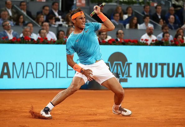 Nadal made a strong comeback in the second set