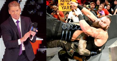 Vince McMahon could give up on Braun Strowman as a top guy