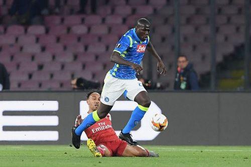 S.S.C. Napoli v Arsenal - UEFA Europa League Quarter Final : Second Leg