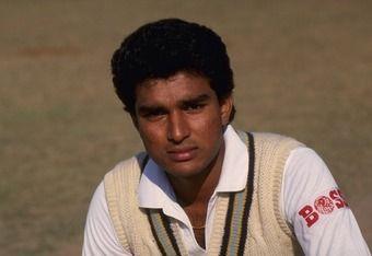 Young Sanjay Manjrekar scored 569 runs in the away series in Pakistan