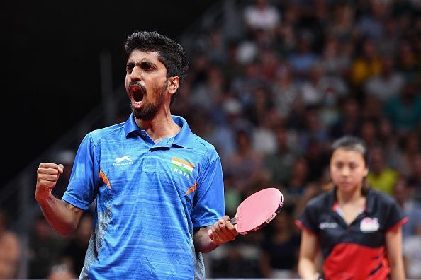 Sathiyan has garnered 900 points by finishing in the Round of 32 at the World Championships, 2019