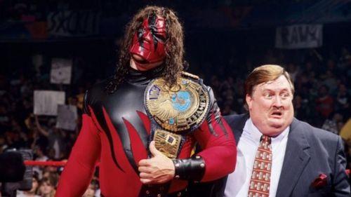 Kane as the WWF Champion
