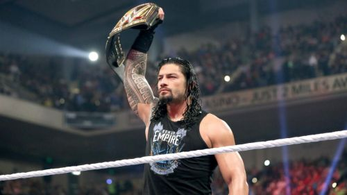 The Big Dog got suspended in 2016 whilst reigning as the WWE World Champion.