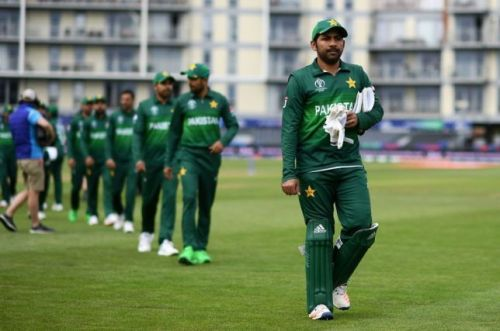 Pakistan enter the WC on a 10-match losing streak