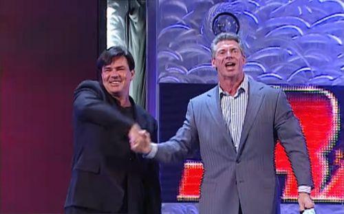 Bischoff's WWE debut