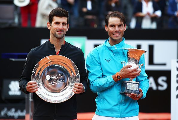 Rafael Nadal overcomes Novak Djokovic to win his 9th title at Rome