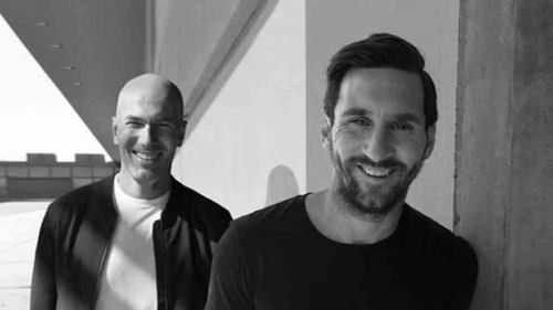 Zidane and Messi want their side to be stronger than ever