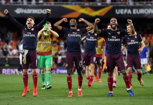 Arsenal will play Chelsea in the final of the Europa League on May 29
