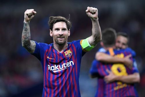 Lionel Messi created history by becoming the first player to win three successive European Golden Shoe