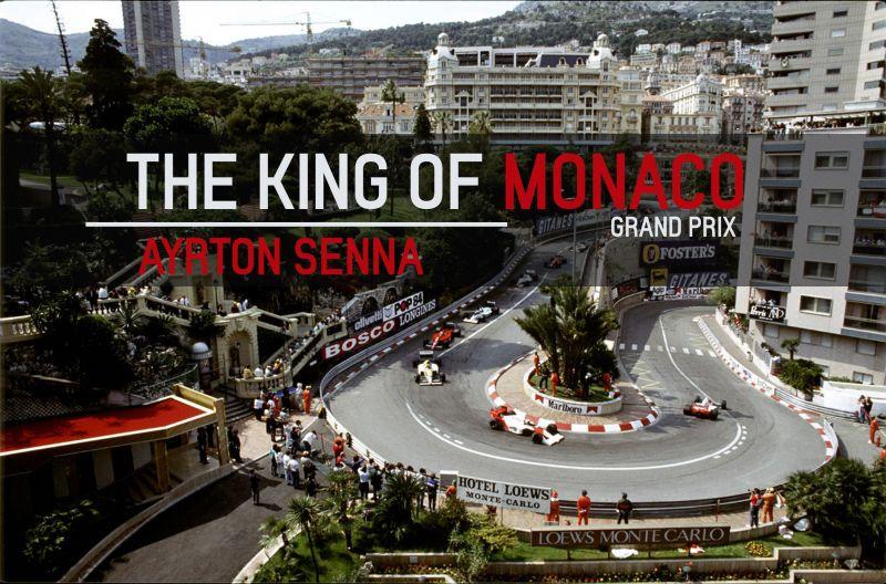 Ayrton Senna was peerless on the streets of Monaco