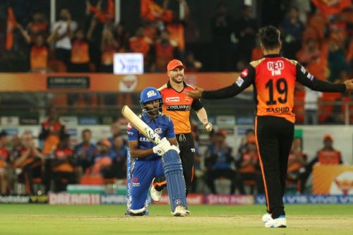 Hardik Pandya and Rashid Khan will come face-to-face again at the Wankhede (Picture courtesy: iplt20.com)