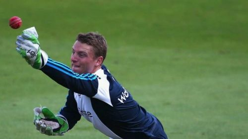 11 dismissals by Jos Buttler of England is the highest number of dismissals by a wicket-keeper at this ground.