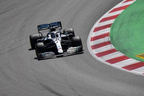 Forza Mercedes! 20-year-old Nikita Mazepin set the fastest time for Mercedes at Barcelona