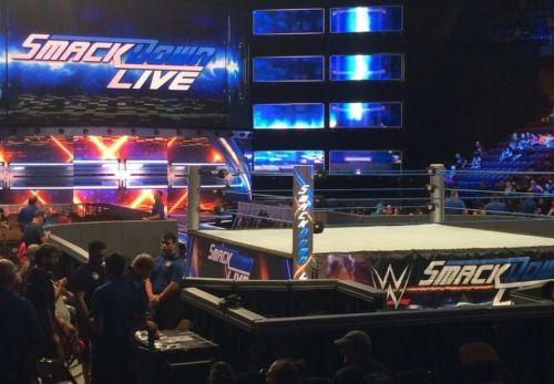 Someone's not happy over on Smackdown Live.