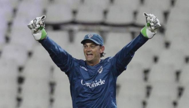 Adam Gilchrist in Deccan Chargers blues (Picture courtesy: iplt20.com)