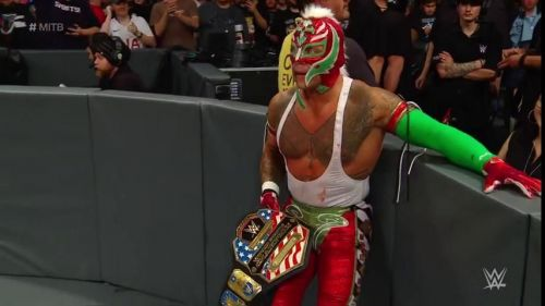 Mysterio joined a highly elite group with names like Roman Reigns and Daniel Bryan being fellow members.