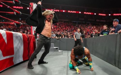 Dolph Ziggler sent a clear message to WWE Champion Kofi Kingston with a Steel Chair and Xavier Woods.
