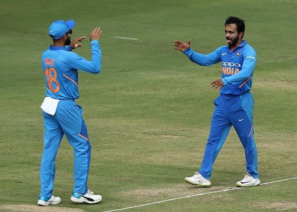 Kedar Jadhav - The most effective unorthodox bowler when fit