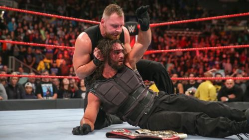 Ambrose turned on Seth Rollins