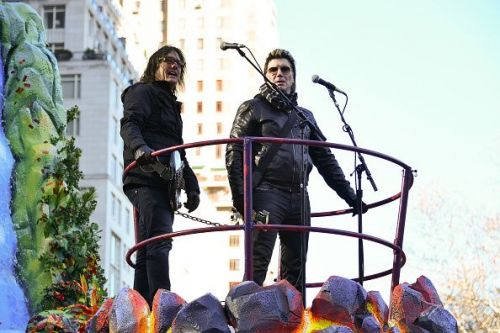 The Goo Goo Dolls at the 91st Annual Macy's Thanksgiving Day Parade