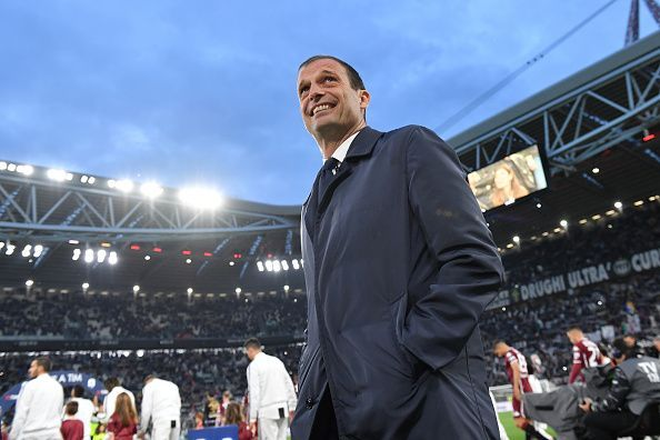 Juventus parted ways with Allegri this week