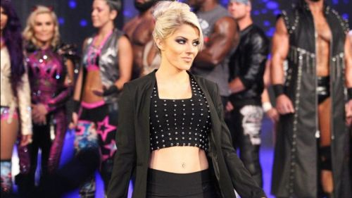 Alexa Bliss was pulled from Money In The Bank