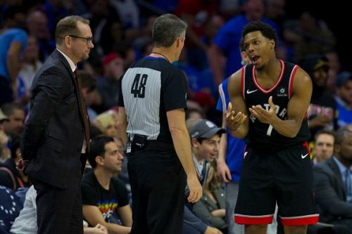 The officials in the NBA consistent nearly entirely of males