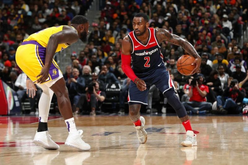 John Wall appeared in just 32 games this past season