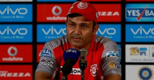 Virender Sehwag holds the record for the highest individual score in Qualifier 2.