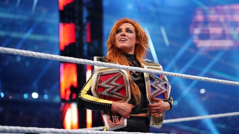 Becky Lynch might not be the double champ after May 19