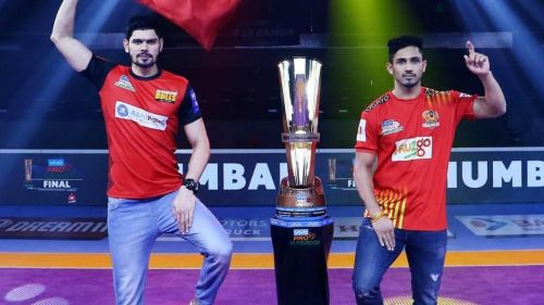Bengaluru Bulls beat Gujarat Fortune Giants (38-33) to win Season 6's trophy.