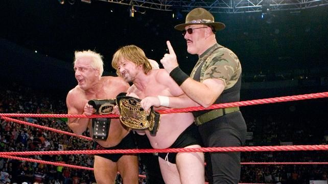 Ric Flair and Roddy Piper- This was Piper