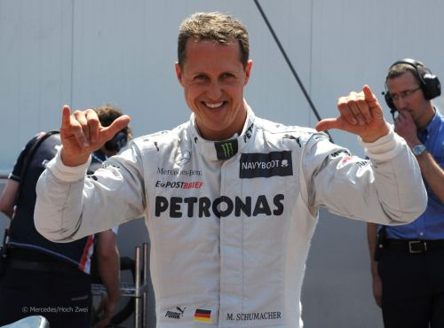 No one expected Schumacher to pull it off