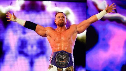 Buddy Murphy was lighting up 205 Live as the Cruiserweight Champion.