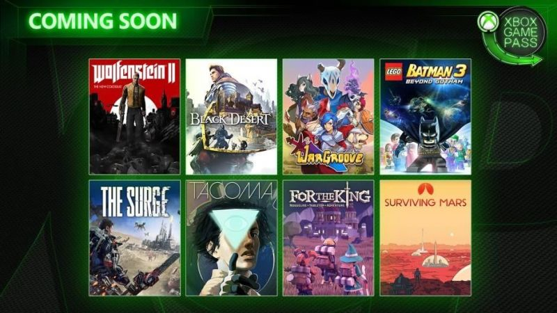 Xbox Game Pass Early May 2019
