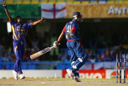 ICC Cricket World Cup Super Eights - England v Sri Lanka