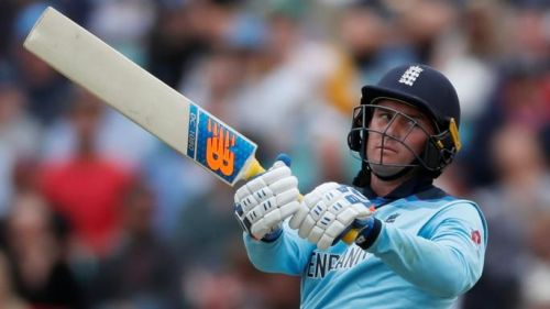 The 2nd partnership between Jason Roy and Joe Root of 106 runs steadied the England innings