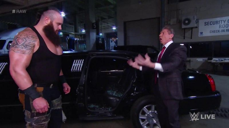 A summary of Braun Strowman