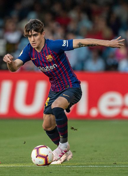 Collado made his first appearance with Barcelona's first team. Every sign of a second-string side