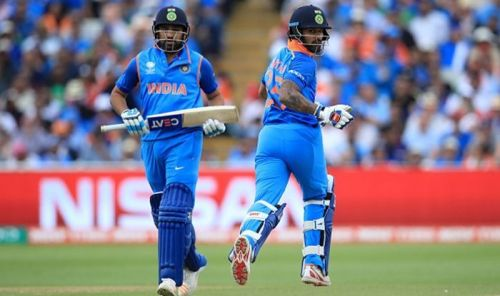 Neither Rohit nor Shikhar were able to get going during the warm-up matches