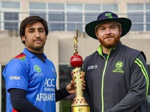 Afghanistan and Ireland will go head to head in ODI series at Belfast